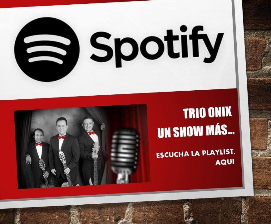 Escucha nuestra música en Spotify